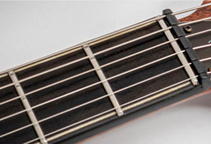 STAINLESS STEEL FRETS & ZERO FRET with GRAPH TECH NUT