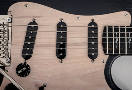 REAL MAPLE PICK GUARD