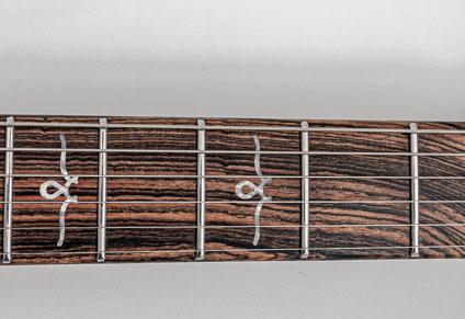 Premium Bocote fingerboard