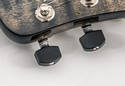 REAL EBONY TUNER KNOBS