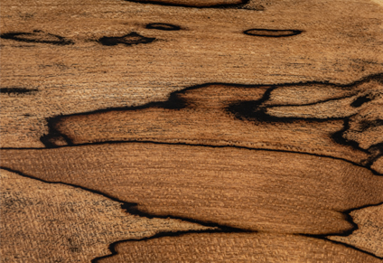 PREMIUM GRADE 5A SPALTED MAPLE TOP